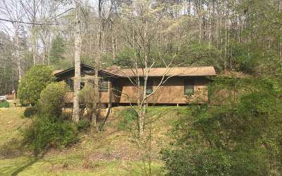 Cherokee County Single Family Home For Sale: 3365 Camp Creek Rd