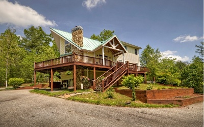 Blue Ridge Single Family Home For Sale: 150 Mill Creek Acres
