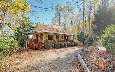 Blairsville Single Family Home For Sale: 1109 Flat Rock Gap Rd
