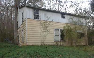 Fannin County Single Family Home For Sale: .58ac Williamstown Rd