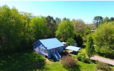 Brasstown Single Family Home For Sale: 218 Reese Rd