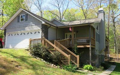 Blue Ridge Single Family Home For Sale: 162 Sanders Rd