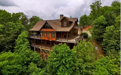 Blue Ridge Single Family Home For Sale: 530 Deercrest Overlook