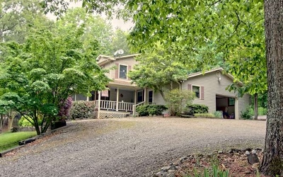 Blairsville Single Family Home For Sale: 464 Huckleberry Hills Rd