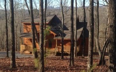Blue Ridge Single Family Home For Sale: Lt 25 Blackberry Creek