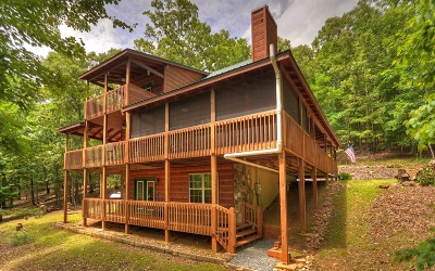 Blairsville Single Family Home For Sale: 175 Knot Ridge