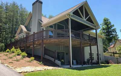 Hiawassee Single Family Home For Sale: 104 Windjammer Drive