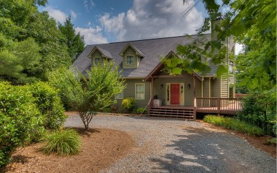 Ellijay Single Family Home For Sale: 470 Bryant Creek Rd.