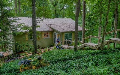 Young Harris Single Family Home For Sale: 5839 Brasstown Creek Est