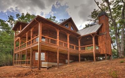 Blue Ridge Single Family Home For Sale: 382 Spirit Mountain