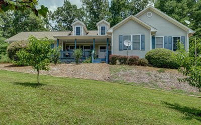 Cherokee County Single Family Home For Sale: 11571 Nc Hwy 294