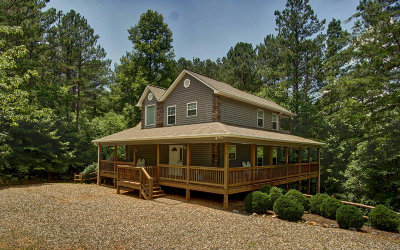 Blairsville Single Family Home For Sale: 73 Seth Dr