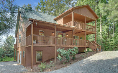 Ellijay Single Family Home For Sale: 408 Garfield Drive