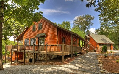 Mineral Bluff Single Family Home For Sale: 242 Woodlands Bluff