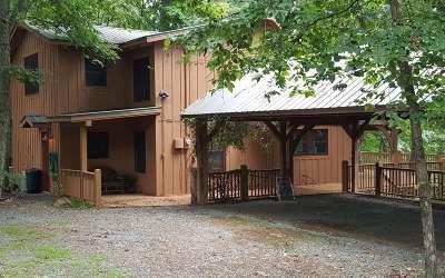 Blue Ridge Single Family Home For Sale: 41 Sassafrass Ridge