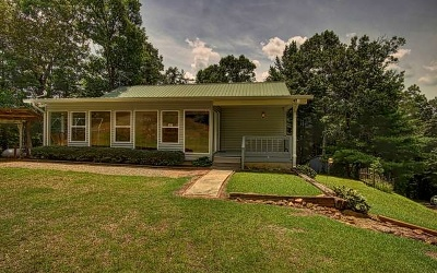 Blairsville Single Family Home For Sale: 156 Lone Piper Rd