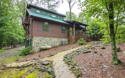 Ellijay GA Single Family Home For Sale: $239,999