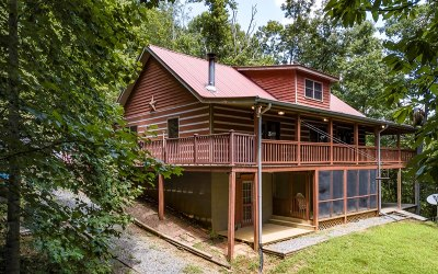 Blue Ridge Single Family Home For Sale: 30 Holloway Circle