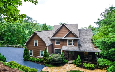 Hiawassee GA Single Family Home For Sale: $1,295,000