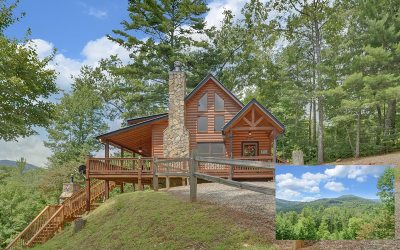 Blue Ridge Single Family Home For Sale: 197 Indian Ridge Rd
