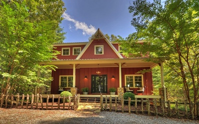 Mineral Bluff Single Family Home For Sale: 193 Toccoa River Forest
