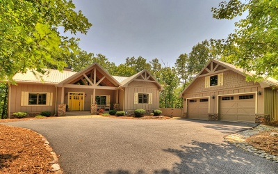 Blue Ridge Single Family Home For Sale: 218 Birdseye View