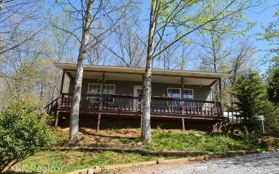 Hiawassee Single Family Home For Sale: 726 Bearmeat Spur