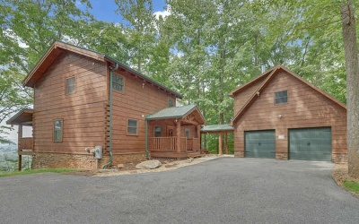 Blairsville Single Family Home For Sale: 336 Mossy Rock Trail