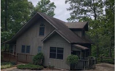 Hiawassee Single Family Home For Sale: 4439 Twiggs Drive