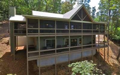 Blue Ridge Single Family Home For Sale: 485 Blue Ridge Heights