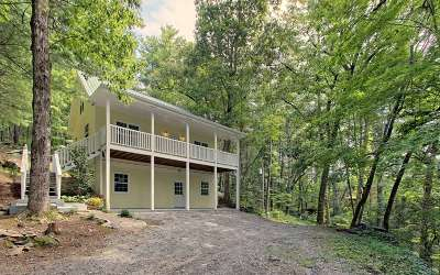Hayesville Single Family Home For Sale: 68 Big Rock Dr.