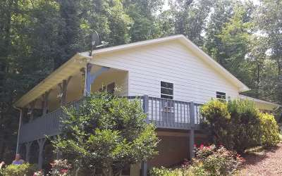 Hayesville Single Family Home For Sale: 472 Old Cherry Mtn Tr