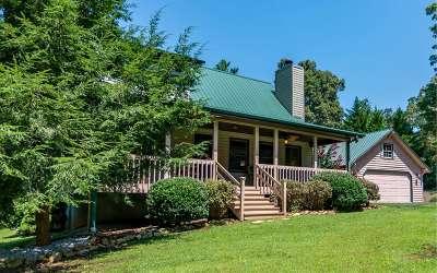 Blairsville Single Family Home For Sale: 574 Jones Rd.
