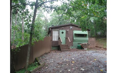 Ellijay GA Single Family Home For Sale: $52,500