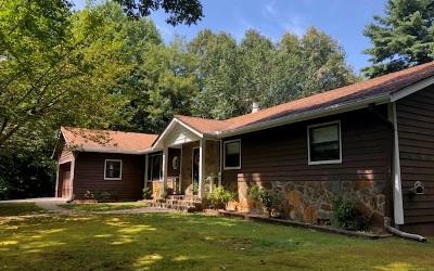 Ellijay Single Family Home For Sale: 927 Hefner Lake Drive
