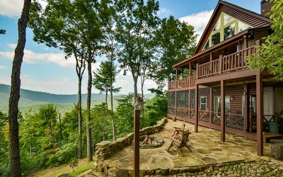 Ellijay Single Family Home For Sale: 821 Rainbow Mountain Dr