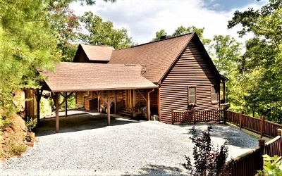 Blue Ridge Single Family Home For Sale: 68 Forest Trail