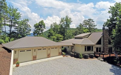 Blairsville Single Family Home For Sale: 636 Fisher Field Rd