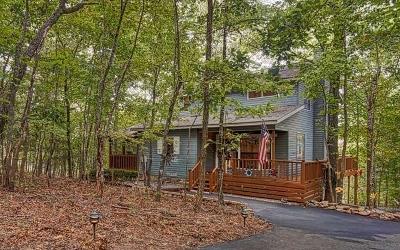 Blairsville Single Family Home For Sale: 512 Doc Thomas Ridge