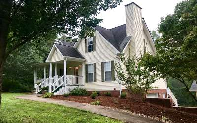 Blue Ridge Single Family Home For Sale: 6831 Mobile Road