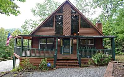 Blairsville Single Family Home For Sale: 127 Wild Turkey Rd