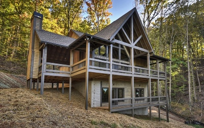 Blue Ridge Single Family Home For Sale: Lt 23 Brown's Cove