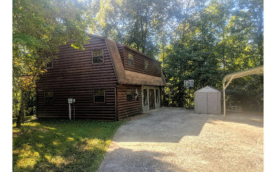 Mineral Bluff Single Family Home For Sale: 18 Wolf Den Valley Rd