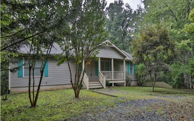 Ellijay GA Single Family Home For Sale: $189,900