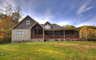 Blue Ridge Single Family Home For Sale: 2444 Sugar Creek Road