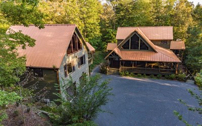Blue Ridge Single Family Home For Sale: 2939 Mountain Tops Rd