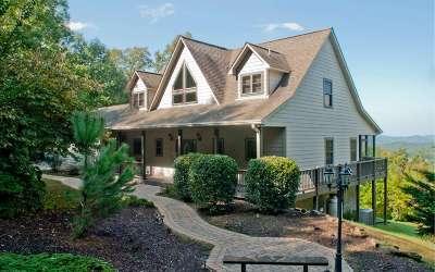 Hayesville Single Family Home For Sale: 181 Dan Knob Overlook