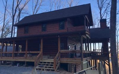 Blue Ridge Single Family Home For Sale: 4 Flint Rock Lane