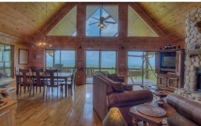 Blue Ridge Single Family Home For Sale: 572 Sunrock Mountain Trc