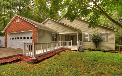 Blue Ridge Single Family Home For Sale: 40 Oakwood Court